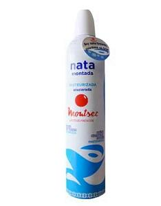 Spray de nata refrigerada 500g - Nata fresca en spray