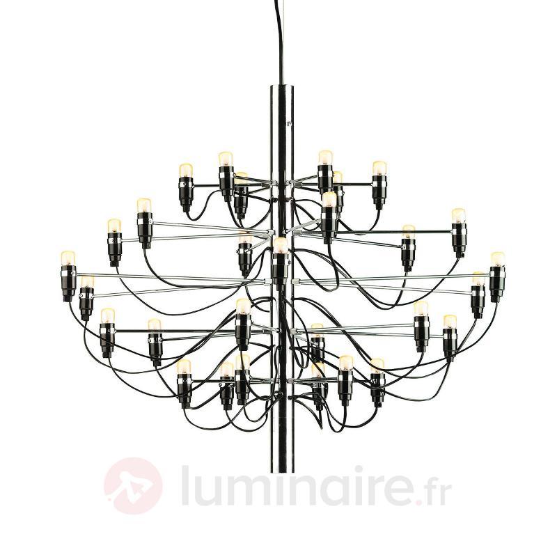 Magnifique lustre 2097 chrome - Lustres designs, de style