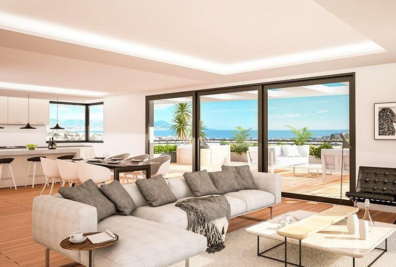 Antibes new apartments with a blue bay on your horizon - Real Estate