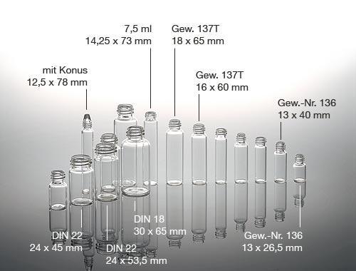 Screw-top vials -
