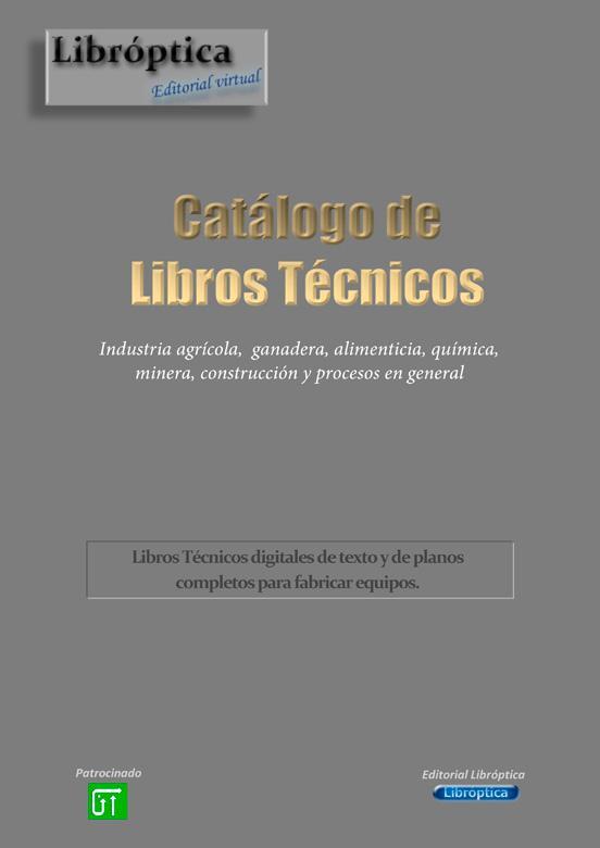 Catalogo Gratis de libros tecnicos -