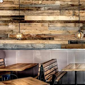 Barn wood patchwork - Cladding barnwood