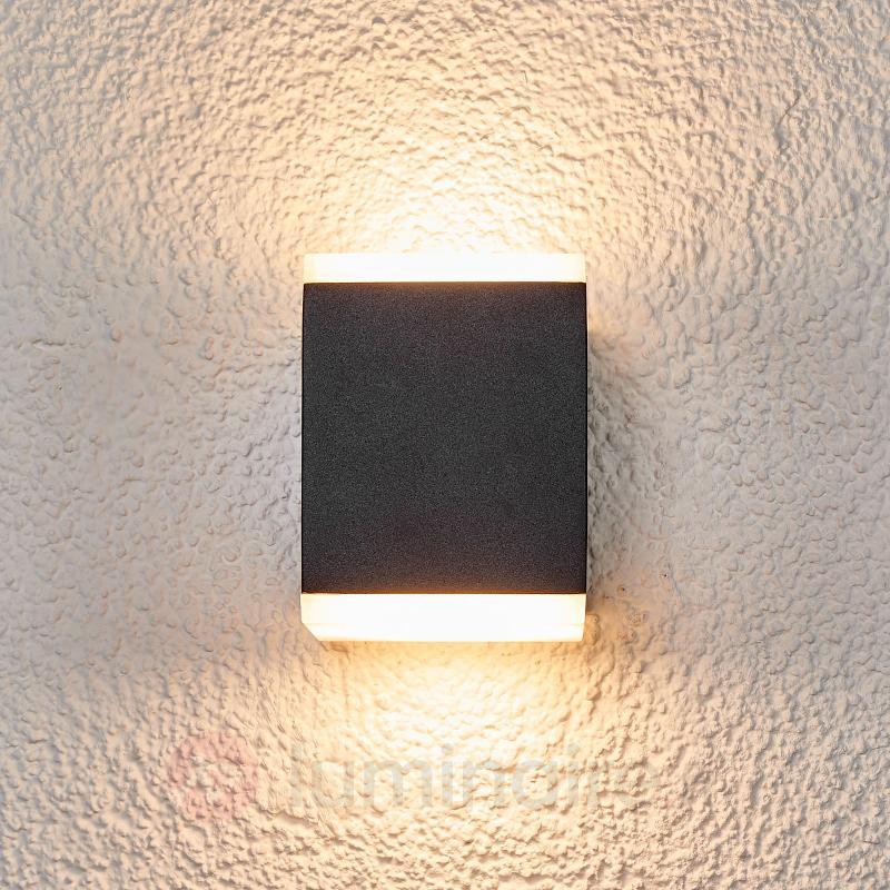 Applique murale ext. Sarah à LED et diffuseur - Appliques d'extérieur LED