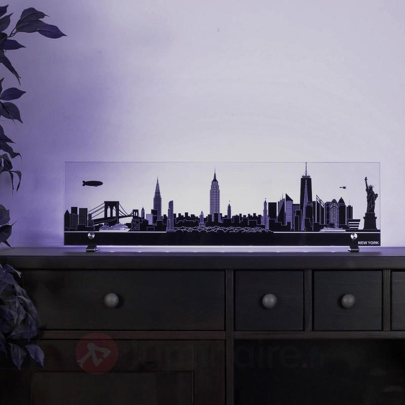 Tableau décoratif ciel de Berlin LED télécommande - Lampes décoratives d'intérieur