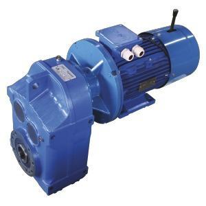 Motor-reducers - UD-F spur-gear motor-reducers