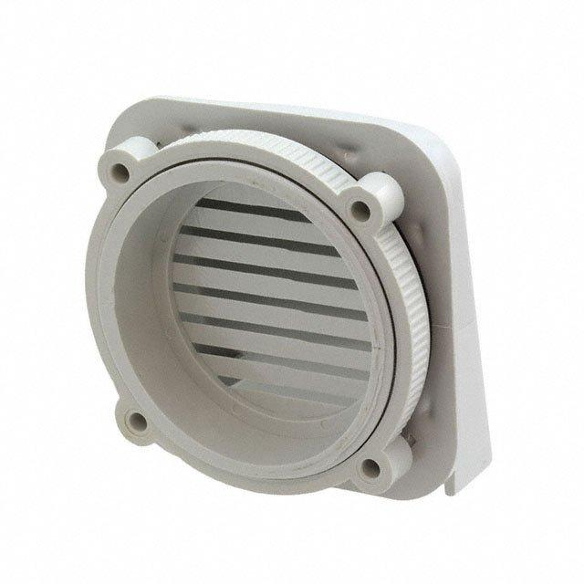 IPV EXT VENT W/WIDE OPENING - Bud Industries IPV-1115