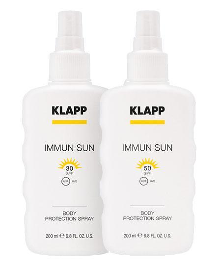 BODY PROTECTION SPRAY - IMMUN SUN SPF 30 / SPF 50 200 ml