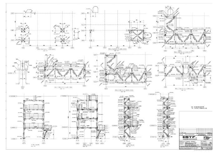 Übersichts- und Montagepläne - im Stahl- und Metallbau