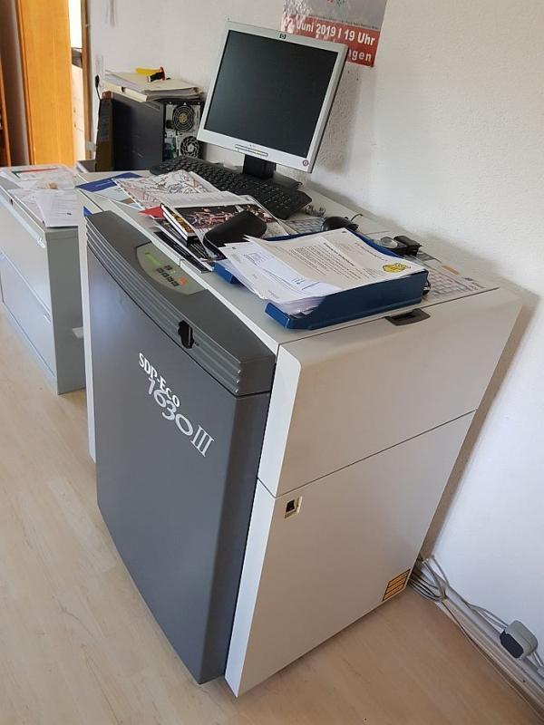 Dainippon Screen SDP Eco 1630 III - Used Machine