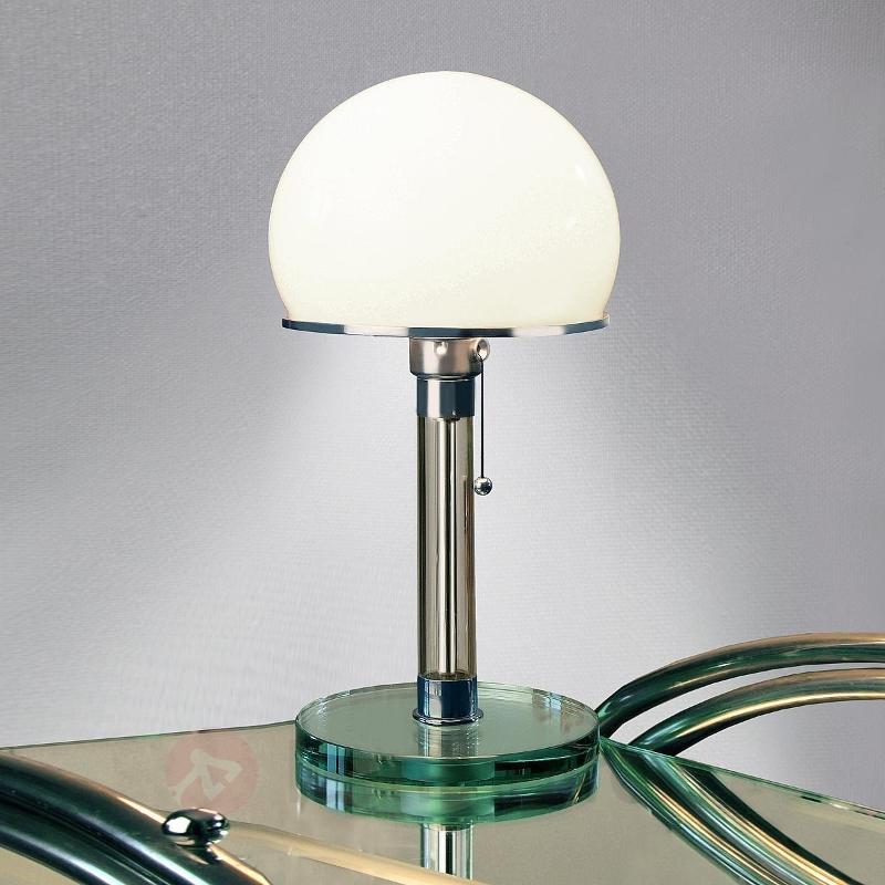 Lampe à poser en verre Wagenfeld - Lampes à poser designs