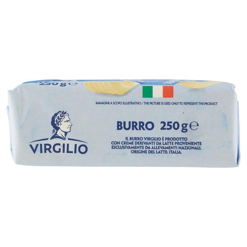 Virgilio Burro 100% Italiano 250 g - Salumi latticini e uova - Latticini e formaggi