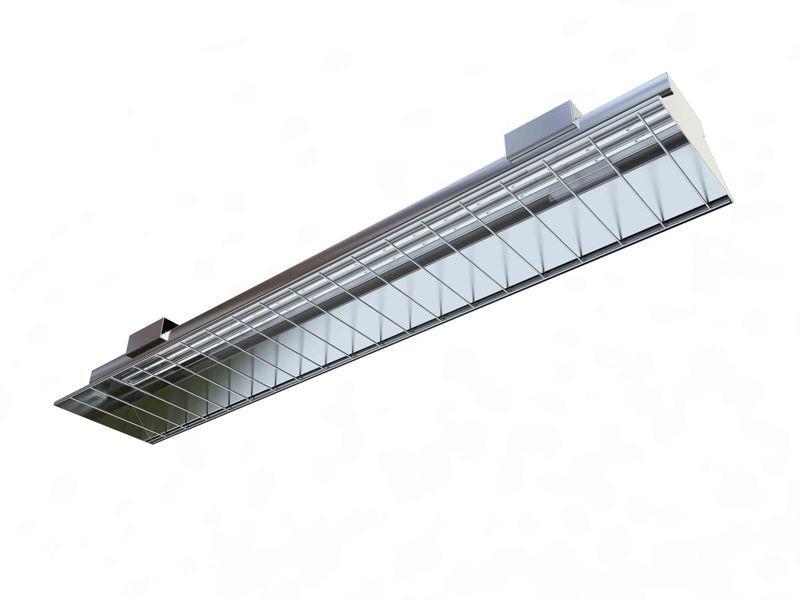 Calentadores de radiación infrarroja -