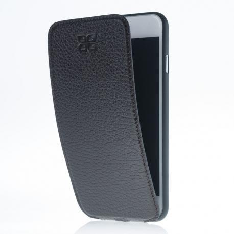 Delgada Funda Volteable - Fundas para telefono móvil de cuero genuino para iPhone 7