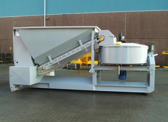 Mobile concrete plant SUMAB C 15 1200 -