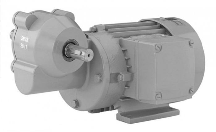 SN9BN - Single-stage gear drive with solid shaft