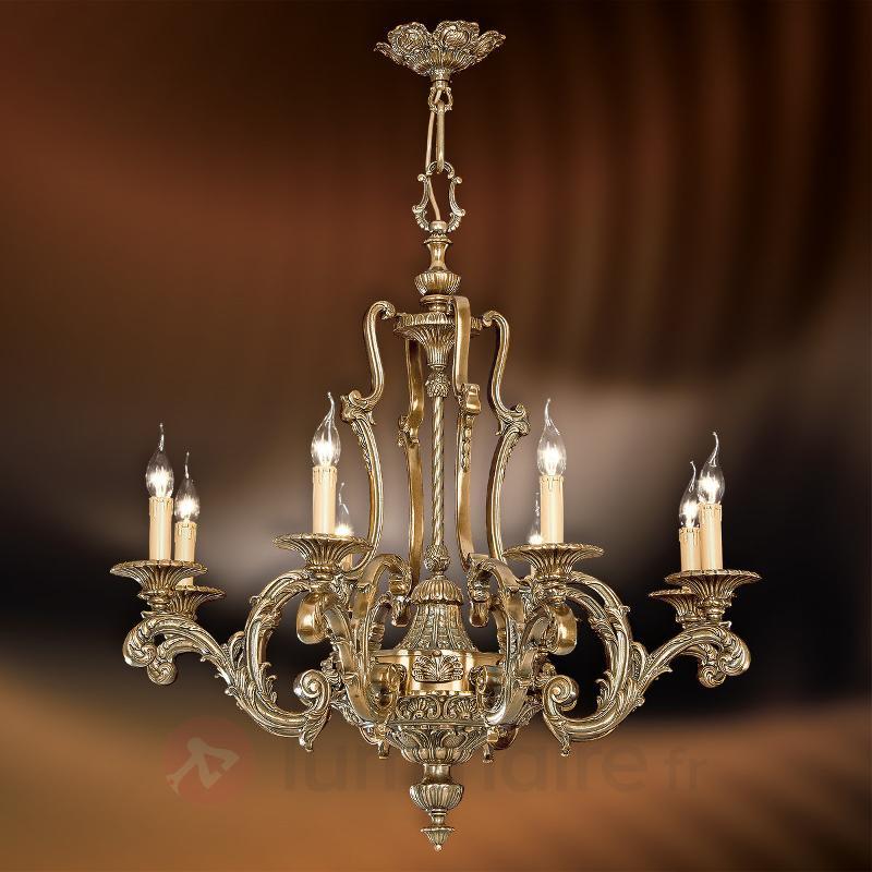 Lustre à 8 lampes Fundidas - Lustres classiques,antiques