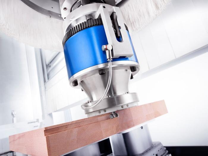 Tastaggregat FLOATING V - CNC Aggregat zur Bearbeitung von Holz, Verbundwerkstoff und Aluminium
