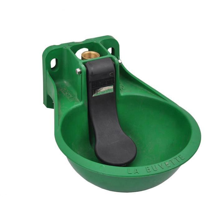 2.6L PP Flat Tongue Animal Drinking Bowls For Hose / Cow - 2.6L Horse and Cow Feeding Trough Drinking Bowl with Tongue