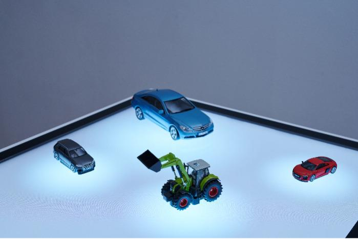 Capore® Custom - Object for multitouch displays - Customized object for individual presentations