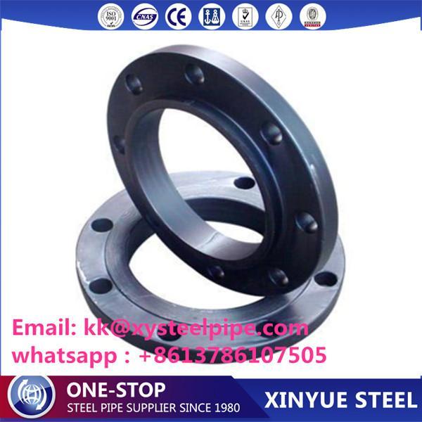 Bride de tuyau en acier au carbone forgé de haute qualité -