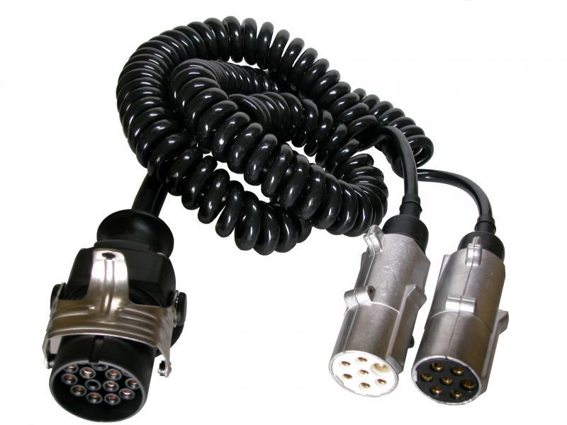 Spiralc.Adapt. 15/2X7-pol.N+S - 2x7 N+S plug
