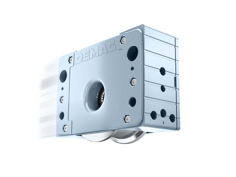 Demag Laufrad System LRS - Ohne Konstruktionsaufwand wie maßgefertigt - Universelles Laufrad LRS
