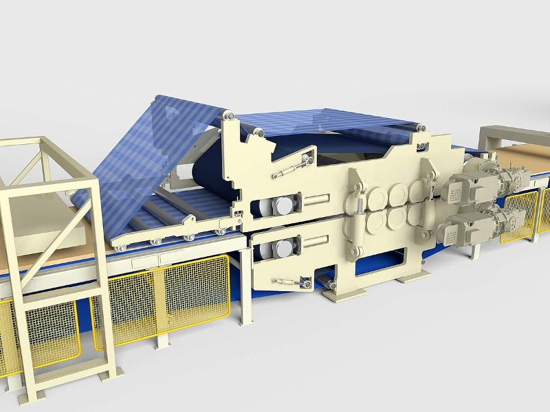 Particleboard Line-Prepress - null