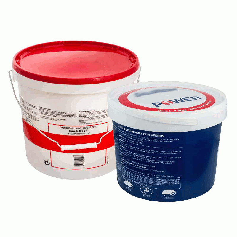Stretch films for pallets of buckets - null