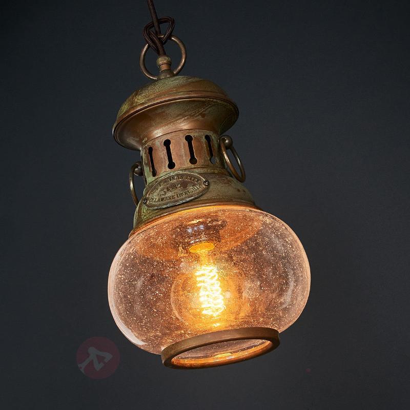 Suspension originale Wind à 1 lampe - Suspensions rustiques