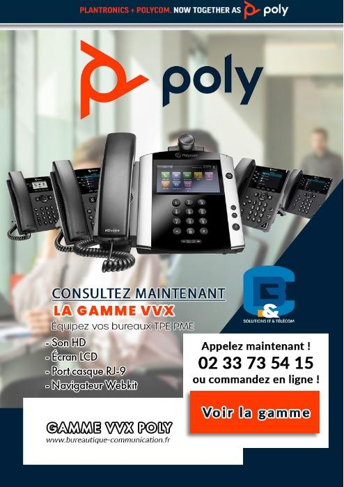 Gamme VVX de POLY - DES TÉLÉPHONES DE BUREAU POUR LES PROFESSIONNELS