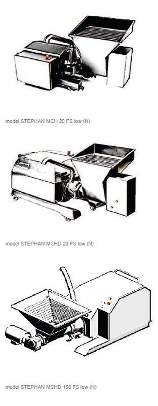 Affineur émulsionneur broyeur homogénéisateur - STEPHAN Microcut MCHN