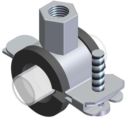 Screw clamps - HSR 07 26-30 mm without inlay