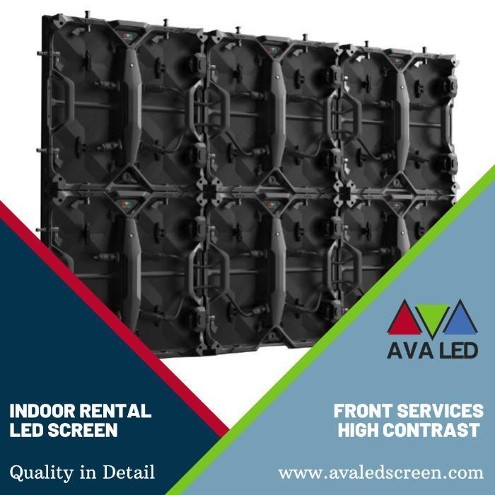 Afișaj Led de închiriere interioară - P1.95 - P2.6 - P2.97 - P3.91 Afișaj cu LED-uri AVA pentru închiriere