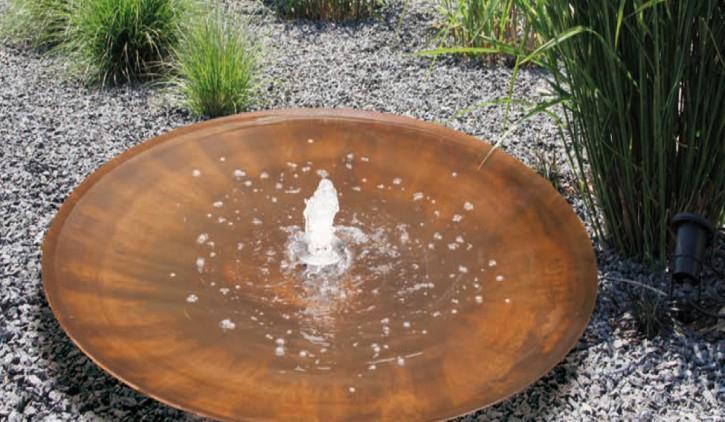 Fountain corten steel AQUA BOWL Florenz - null