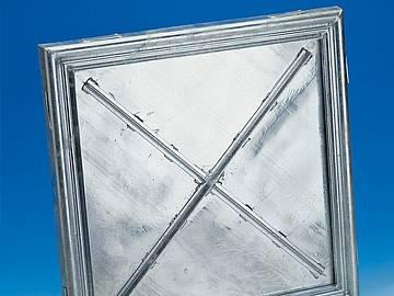 BV-shallow steel galvanised BVE-shallow stainless... - Sealed cover