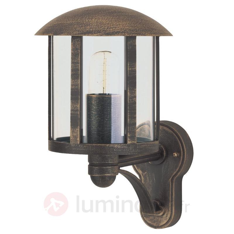 Applique d'extérieur Genefe style rustique - Appliques d'extérieur cuivre/laiton
