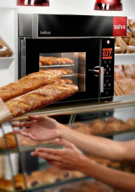 Bake-off, geventileerde ovens - SALVA Kwik co bake off oven ! enorm energiebesparend