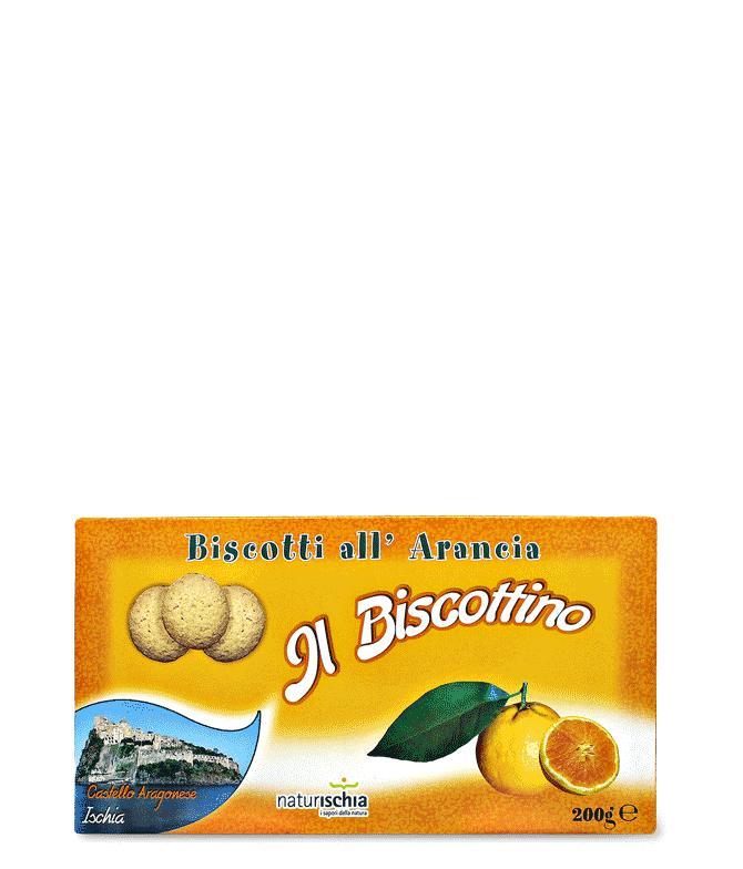 """Biscotti all'arancia """"Il Biscottino"""" - Dolcezze"""