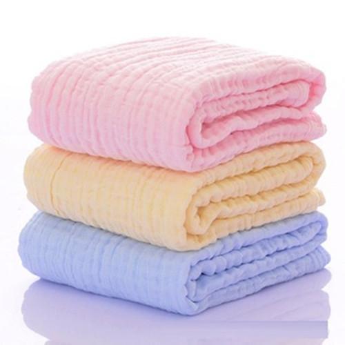 Serviette de bain en gaze de coton - Gaze écrémé médical 100% coton, après décoloration, séchage haute température. A