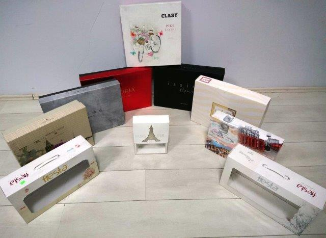 Verpackungen mit Klarsichtfenster