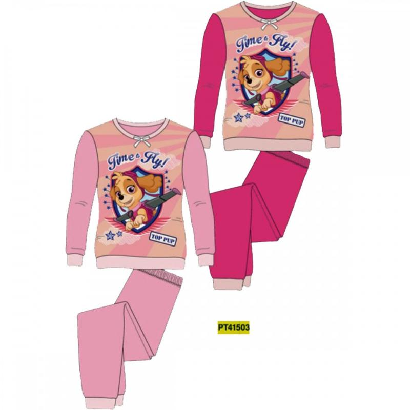 10x Pyjamas polaires Paw Patrol du 2 au 6 ans - Pyjama