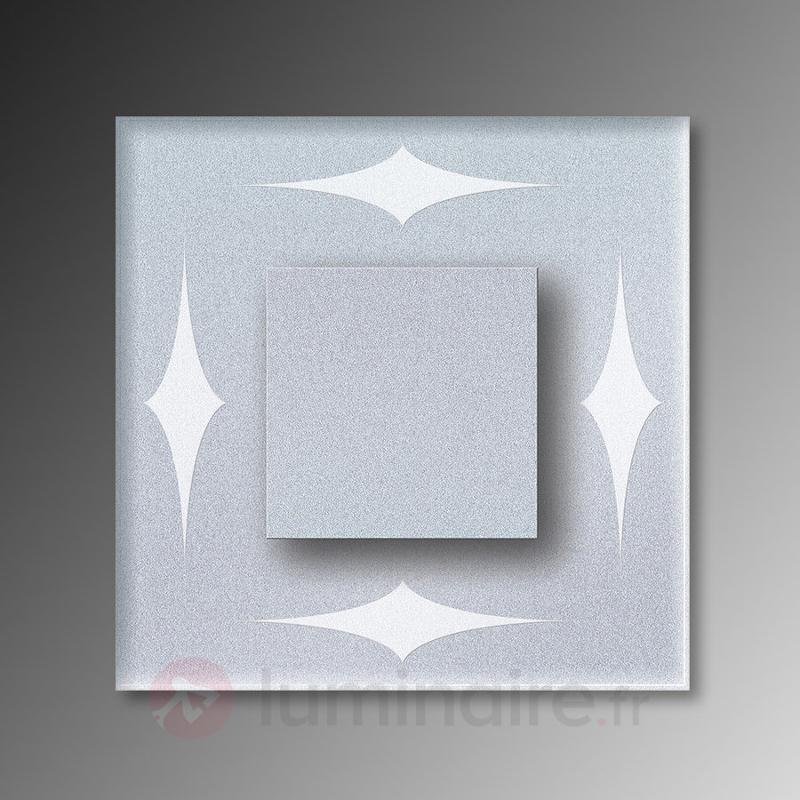 Quatre losanges - Applique LED Cristal IP44 - Appliques LED