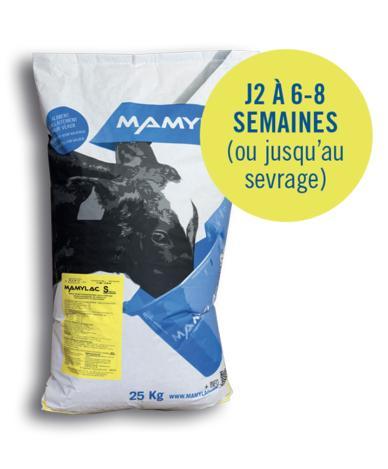 Aliment complet d'allaitement pour veaux d'élevage - Mamylac-S