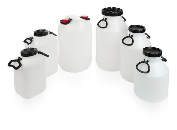 Kunstoff-fässer, -kanister, -dosen, -hobbock -