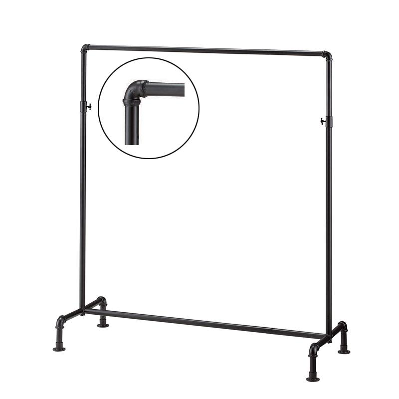 Gas pipe clothes rack