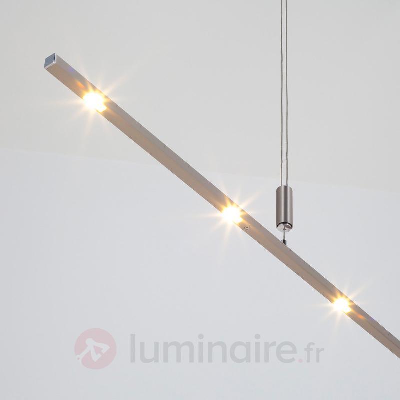 Suspension LED Tolu à hauteur réglable 140 cm - Suspensions LED