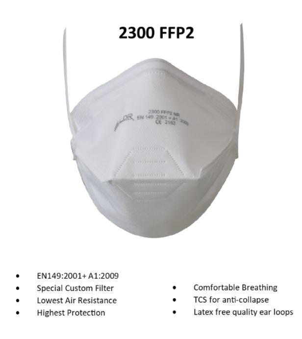 FFP2 SAFETY MASK - SAFETY MASK