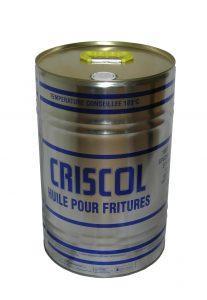 Huiles Criscol - Formats disponibles : BiB 15L / 25L / 1000L