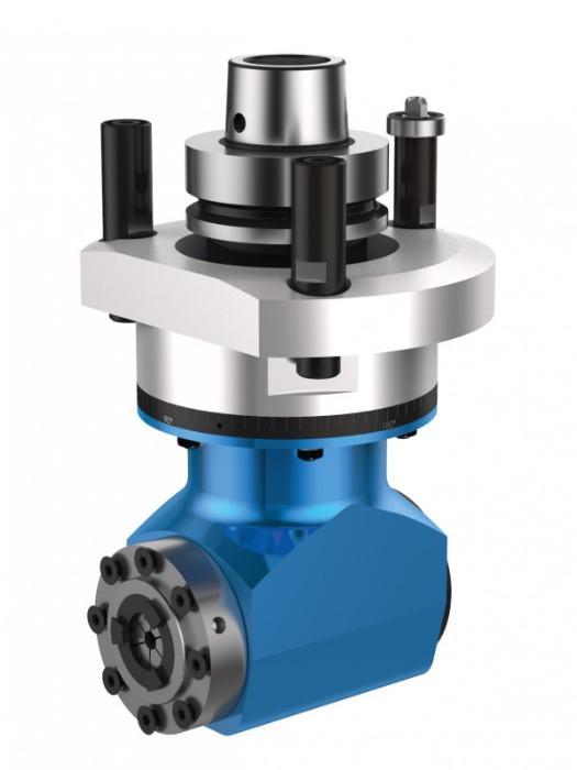 Einfachwinkelkopf MONO - CNC Aggregat / Winkelkopf zur Bearbeitung von Holz und Verbundwerkstoffen