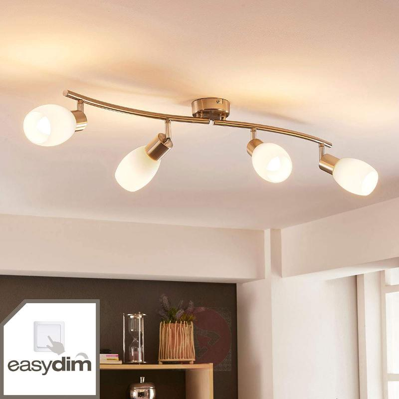 Four-bulb LED ceiling light Arda, Easydim - Spotlights